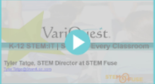 Upcoming Webinar: Incorporate STEM and Kinesthetic Learning in the Classroom with STEM:IT