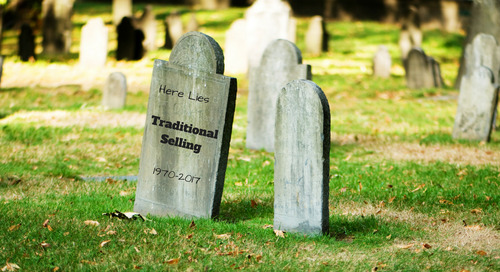Sales Tips: Obituary for Traditional Selling