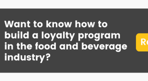 How to Build a Loyalty Program in the Food and Beverage Industry