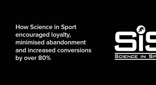 How Science in Sport increased conversions by over 80%