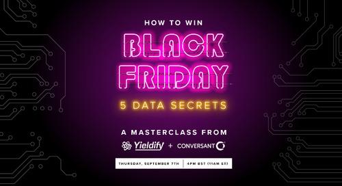 Webinar: 5 data secrets to win Black Friday 2017