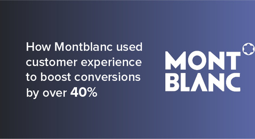 How Montblanc used customer experience to boost conversions by over 40%