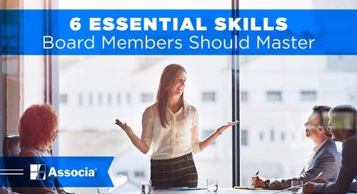 6 Essential Skills Board Members Should Master