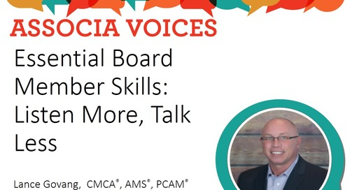 Essential Board Member Skills: Listen More, Talk Less
