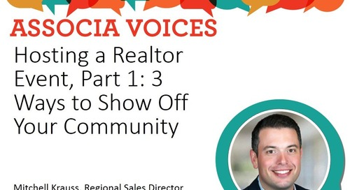 Hosting A Realtor Event, Part 1: 3 Ways to Show Off Your Community