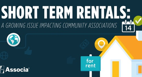 Short Term Rentals – A Growing Issue Impacting Community Associations