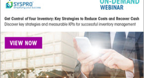 [ON-DEMAND WEBINAR] Get Control of Your Inventory