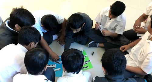 Classrooms Around the World - Teaching English in Ras al Khaimah, U.A.E.