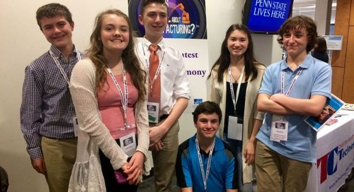 Springton Lake Students Win Outstanding Videography Award for Southco Video