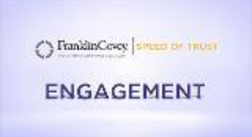 Speed of Trust - Engagement