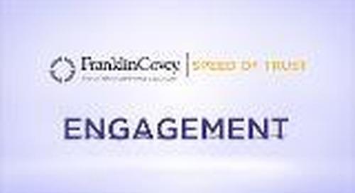 Speed of Trust - Engagement