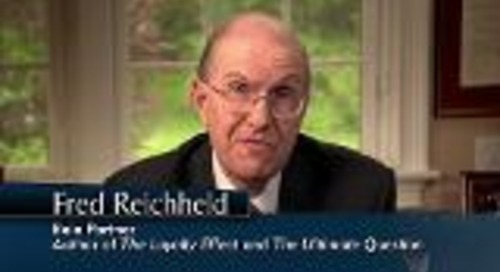 The Enterprise Story With Fred Reichheld