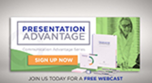 Presentation Advantage Webcast