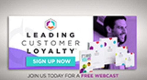 Leading Customer Loyalty Webcast
