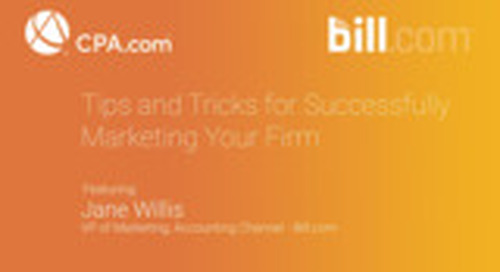 Jane Willis - Tips and Tricks