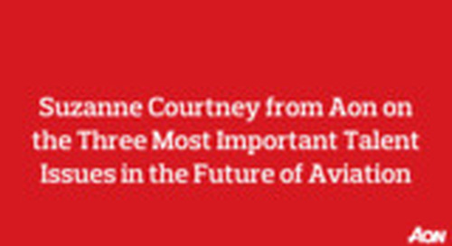 The Three Most Important Talent Issues in the Future of Aviation