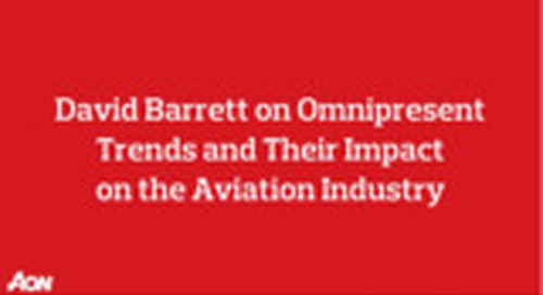 Omnipresent Trends and Their Impact on the Aviation Industry
