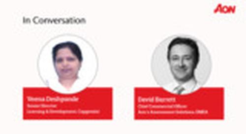 Talent Transformation Study 2020: Interview Veena Deshpande & David Barrett