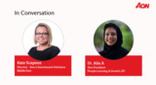 Talent Transformation Study 2020: Interview Dr. Alia A & Kate Scapens