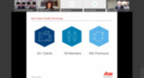 2019 Aon Active Health Exchange Strategy Forum