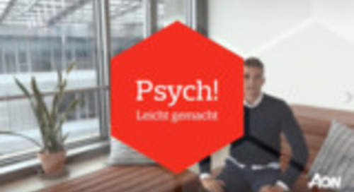 Psych! VidCast: Moritz Schöffel zum Thema Intelligenz