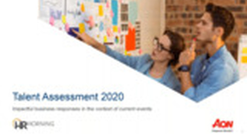 WEBINAR RECORDING Talent Assessment 2020 - Impactful Business Responses in the Context of Current Events