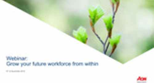 Webinar: Grow Your Future Workforce From Within