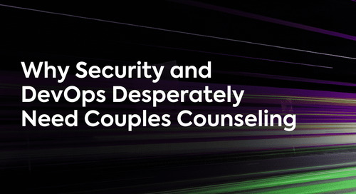Why Security and DevOps Desperately Need Couples Counseling