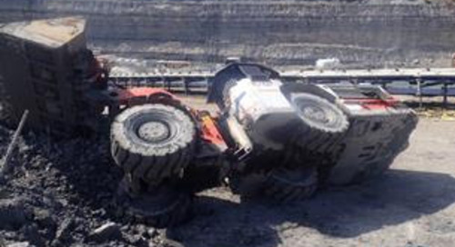 Dangerous incident: load hall dump