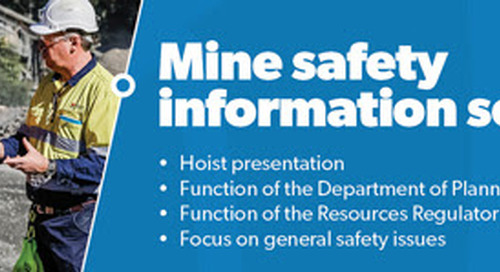 Mine safety information session ALL WELCOME – FREE ADMISSION
