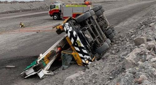 50 tonne crane rolls on ramp