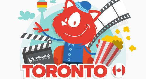 A Conference Without Slides: Meet SmashingConf Toronto 2018 (June 26-27)