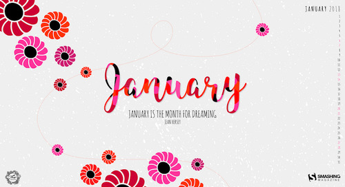 Inspiring Desktop Wallpapers To Welcome 2018 (January Edition)