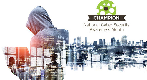 October Is National Cyber Security Awareness Month: Be Part of Something Big