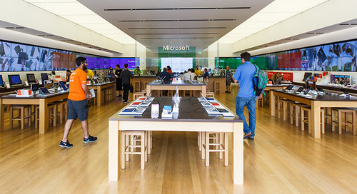Dynamics 365 and the Microsoft Stores: Partners in Digital Transformation