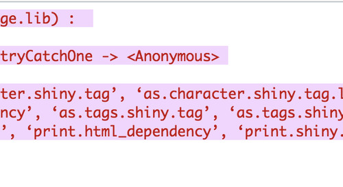 Error when using Knit in Rstudio Server