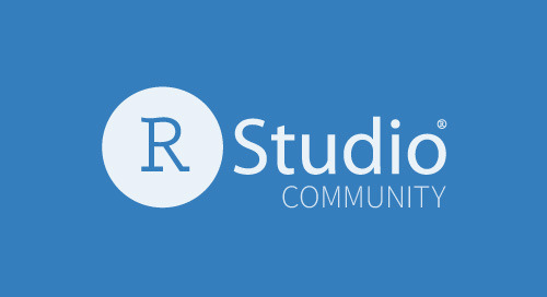 RStudio Package Manager problem with loading website