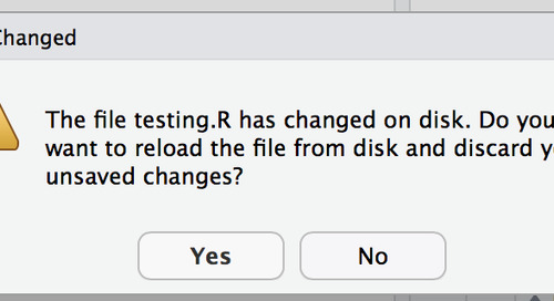 RStudio Server Pro, Prompting to Reload Script from Disk