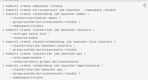 rstudio launcher is not working. Throwing error: [rserver] ERROR Cannot connect to the Job Launcher service