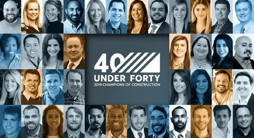 40 Under 40: Construction Champions of 2019