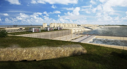 Weatherproof Infrastructure: Reinforcing the Largest Dike in the Netherlands with BIM
