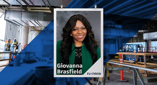 Behind the Build: Interview with Dr. Giovanna Brasfield, Vice President of Diversity & Inclusion, Flatiron