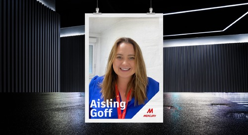 Behind the Build: Interview with Aisling Goff, Business Unit Quality Manager for Mercury Engineering