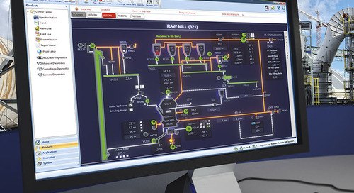 The new ECS/ControlCenter™ V8 process control system