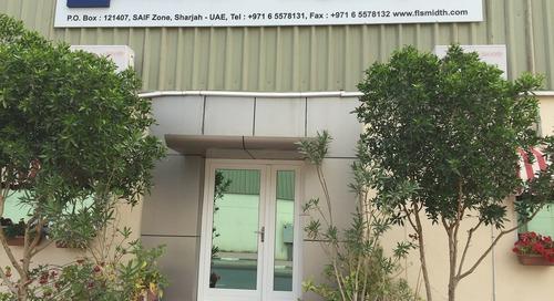 FLSmidth strengthens regional office in UAE