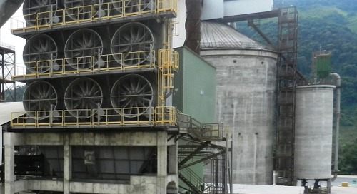 New Brazilian cement plant fast into action