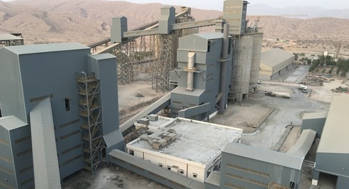New cement grinding system in Oman