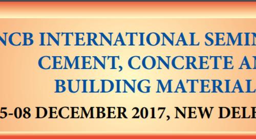 Meet us at NCB International Seminar in New Delhi, India from 05-08 December 2017