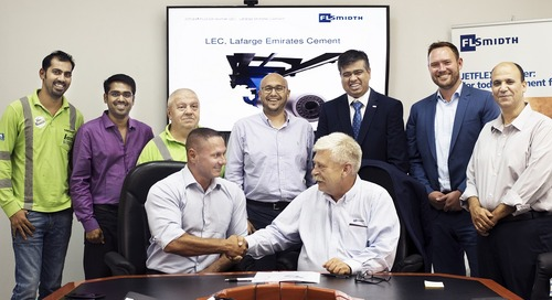 FLSmidth to deliver JETFLEX® PLUS burner to Lafarge Emirates