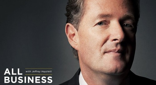 The Guy You Love to Hate: Piers Morgan on Cutting Through the Bull